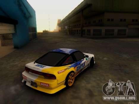 Nissan 240sx Zeetex para GTA San Andreas left