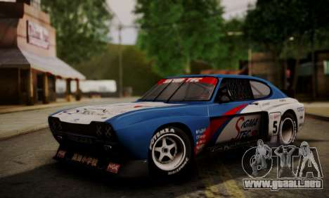 Ford Capri RS Cosworth 1974 Skinpack 4 para GTA San Andreas