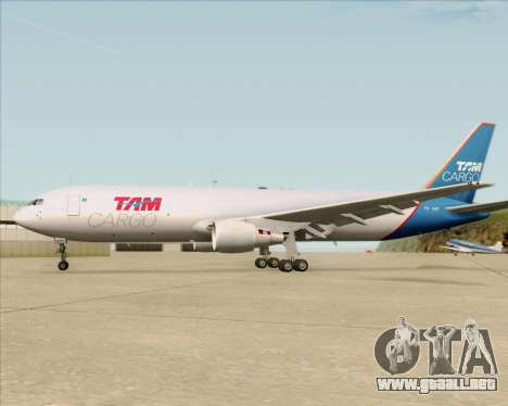Boeing 767-300ER F TAM Cargo para el motor de GTA San Andreas