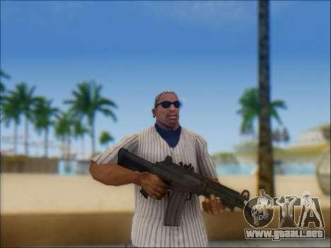 Israel carabina ACE 21 para GTA San Andreas undécima de pantalla