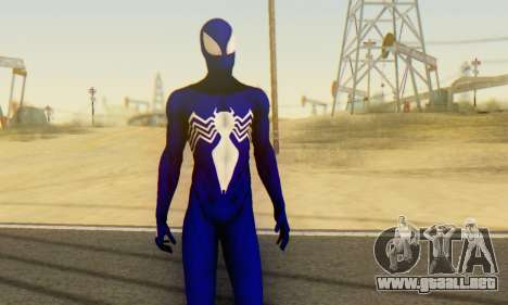 Skin The Amazing Spider Man 2 - Suit Symbiot para GTA San Andreas