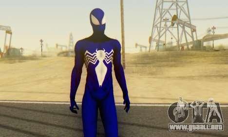 Skin The Amazing Spider Man 2 - Suit Symbiot para GTA San Andreas