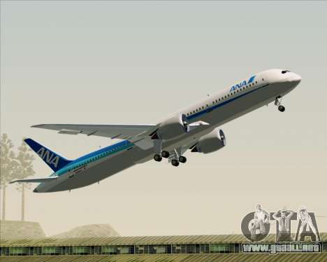 Boeing 787-9 All Nippon Airways para GTA San Andreas interior