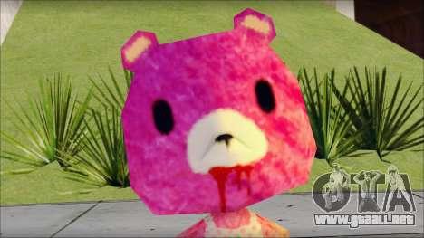 Gloomy the Foxy Bear Ped Skin para GTA San Andreas tercera pantalla
