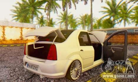 Dacia Logan ZYCU para la visión correcta GTA San Andreas