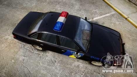 Vapid Police Cruiser LSPD Generation [ELS] para GTA 4 visión correcta