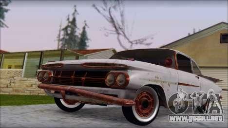 Chevrolet Biscayne 1959 Ratlook para la visión correcta GTA San Andreas