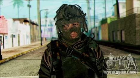 Los soldados aerotransportados (CoD: MW2) v4 para GTA San Andreas tercera pantalla