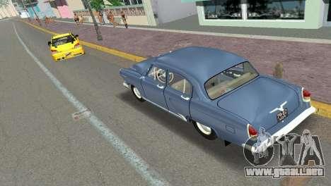 GAZ-21R Volga 1965 para GTA Vice City vista posterior
