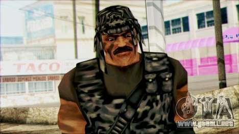 Manhunt Ped 22 para GTA San Andreas tercera pantalla