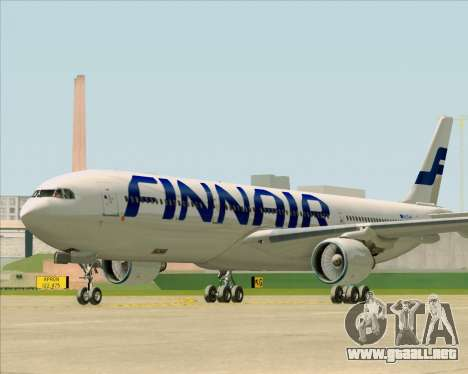 Airbus A330-300 Finnair (Current Livery) para GTA San Andreas left
