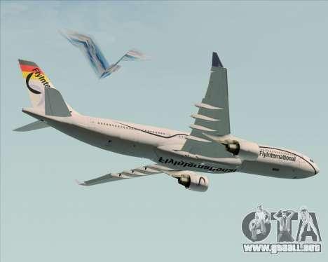 Airbus A330-300 Fly International para el motor de GTA San Andreas