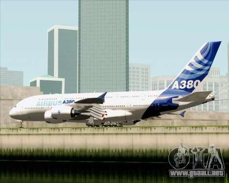 Airbus A380-861 para la visión correcta GTA San Andreas