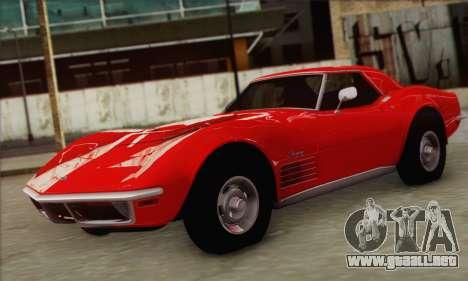 Chevrolet Corvette ZR1 1970 para GTA San Andreas