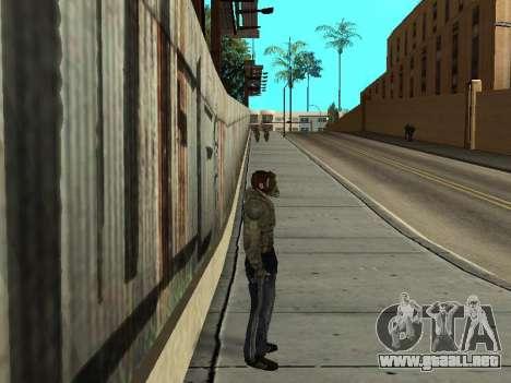 Pantalones de bandido de Stalker para GTA San Andreas segunda pantalla