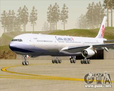 Airbus A340-313 China Airlines para GTA San Andreas left