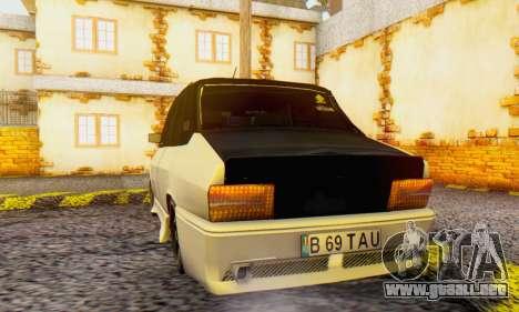 Dacia 1310 B 69 TAU para GTA San Andreas vista posterior izquierda