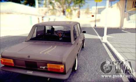 Fiat 125P Shark para la visión correcta GTA San Andreas