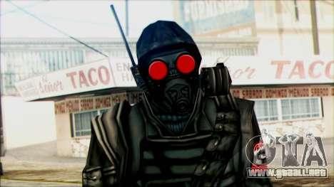 Manhunt Ped 1 para GTA San Andreas tercera pantalla