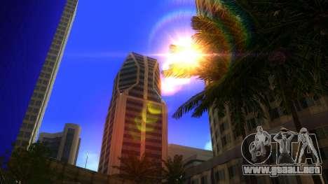 De texturas en HD de cuatro rascacielos en Los S para GTA San Andreas segunda pantalla