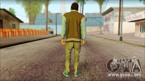 Los Aztecas Gang Skin v2 para GTA San Andreas segunda pantalla