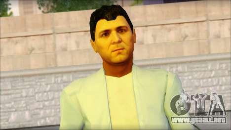 Michael from GTA 5 v4 para GTA San Andreas tercera pantalla