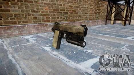 Pistola de Kimber 1911 Un ejército de fans de la para GTA 4