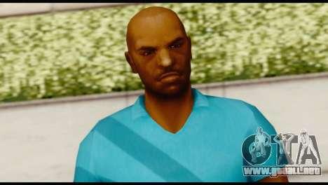 Blue Shirt Vic para GTA San Andreas tercera pantalla