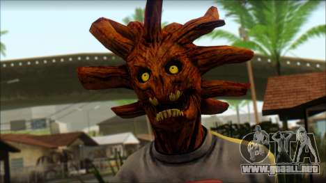 Guardians of the Galaxy Groot v1 para GTA San Andreas tercera pantalla