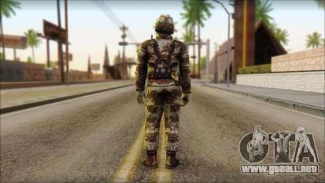 Navy Seal Soldier para GTA San Andreas segunda pantalla