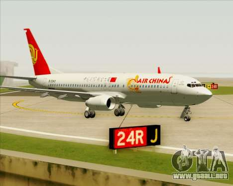 Boeing 737-89L Air China para GTA San Andreas left