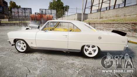 Chevrolet II Nova SS 1966 Custom [EPM] para GTA 4 left