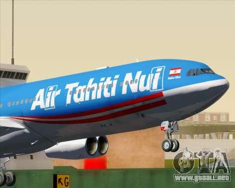 Airbus A340-313 Air Tahiti Nui para el motor de GTA San Andreas