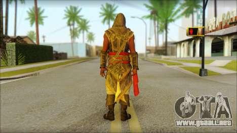 Adewale from Assassins Creed 4: Freedom Cry para GTA San Andreas segunda pantalla