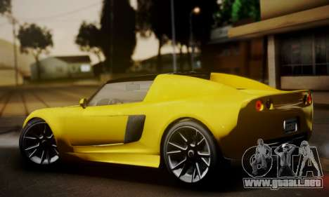 Voltic from GTA 5 (IVF) para GTA San Andreas left