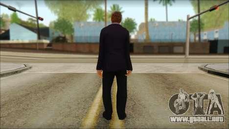 GTA 5 Ped 12 para GTA San Andreas segunda pantalla