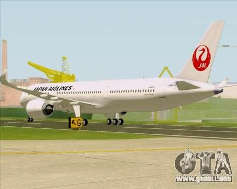 Airbus A350-941 Japan Airlines para la visión correcta GTA San Andreas