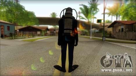 Buzo para GTA San Andreas segunda pantalla