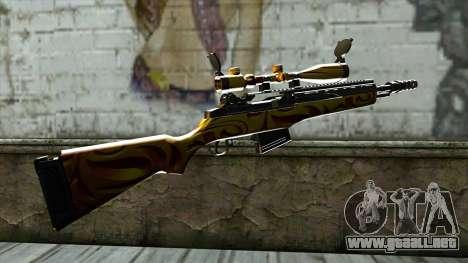 Nitro Sniper Rifle para GTA San Andreas segunda pantalla