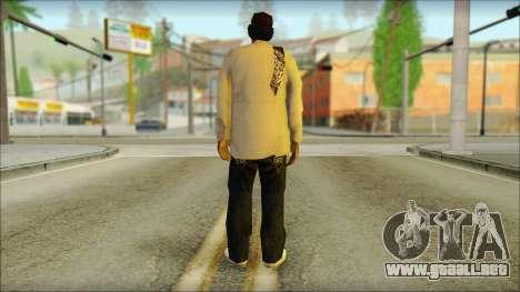 Afro - Seville Playaz Settlement Skin v2 para GTA San Andreas segunda pantalla