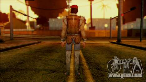 Ezio from Assassins Creed para GTA San Andreas segunda pantalla