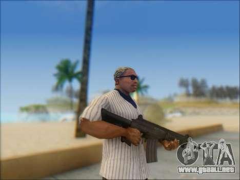 Israel carabina ACE 21 para GTA San Andreas sucesivamente de pantalla