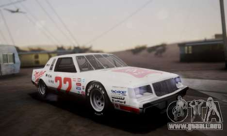Buick Regal 1983 para la vista superior GTA San Andreas
