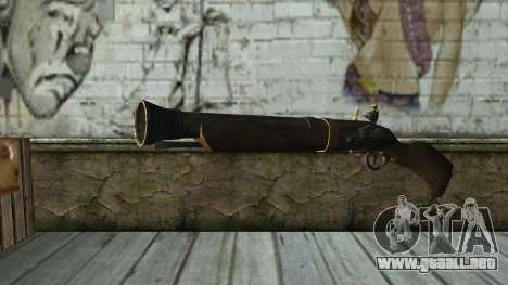 Trabuco from Assassins Creed 4: Freedom Cry para GTA San Andreas