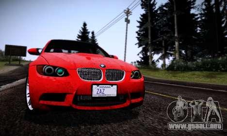 Graphic mod for Medium PC para GTA San Andreas sucesivamente de pantalla
