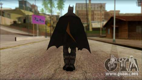 Batman From Batman: Arkham Origins para GTA San Andreas segunda pantalla