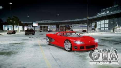 Entity XF para GTA 4 vista hacia atrás