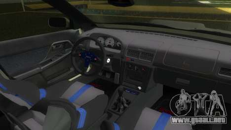 Subaru Impreza WRX STI GC8 Sedan Type 2 para GTA Vice City vista posterior