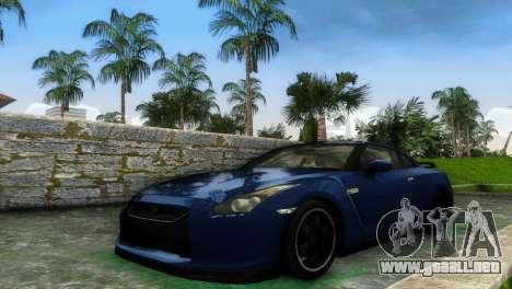 Nissan GT-R SpecV Black Revel para GTA Vice City