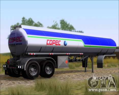 Remolque tanque Carro Copec para GTA San Andreas left